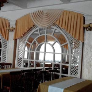 Шторы для ресторанов и гостиниц